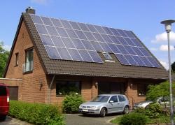 finanzielle Förderung von Solar-Anlage